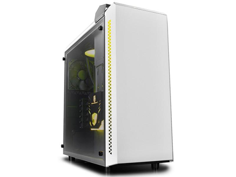 Deepcool Baronkase Case Liquid Cooling System White Colour Intel LGA20XX/LGA1366/LGA115X AMD 140W AM4 AM3+ AM3 AM2+ AM2 FM2+ FM2 FM1